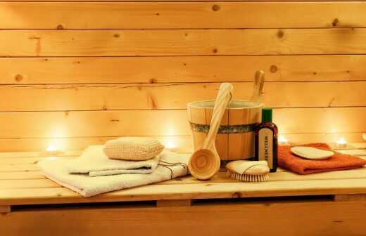 Sauna reparieren oder warten - Erfurt