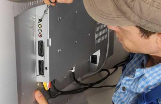 TV Reparatur - Kaputt