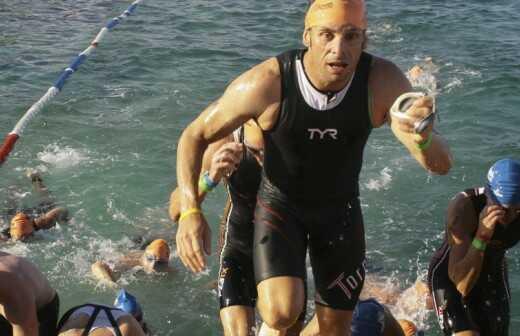 Triathlontraining - Werfen