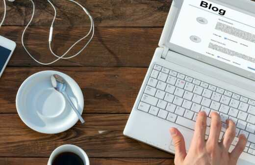 Blog Design (Website) - Webseite