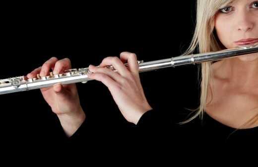 Flötenunterricht - Maschine