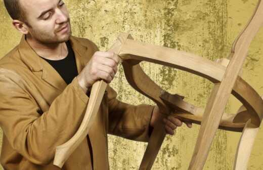 Feines Holzhandwerk - Weberei