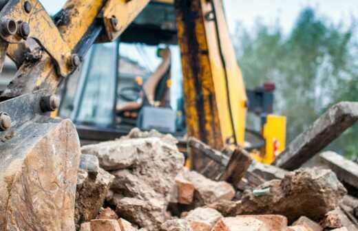 Abrissarbeiten - Nicht Zerstörung