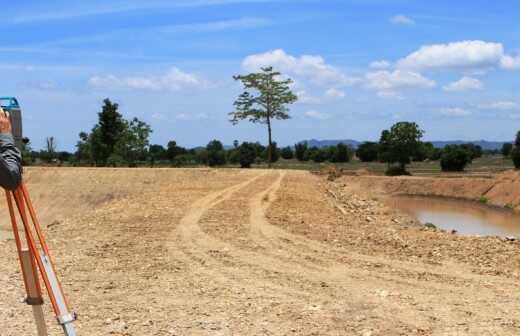 Landvermessung - Georeferenzierung