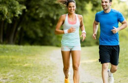 Lauf- und Jogging-Training - Schnell