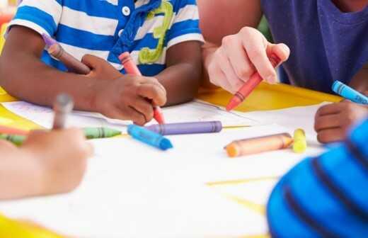 Zeichenunterricht - Lehrplan