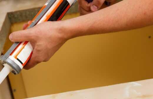 Küchenarbeitsplatte reparieren oder ausbessern - Abplatzungen