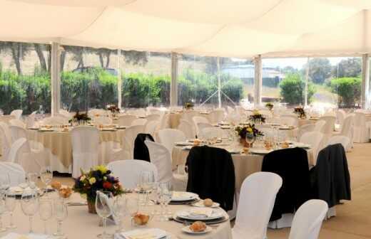Hochzeitssaal mieten - Schleier