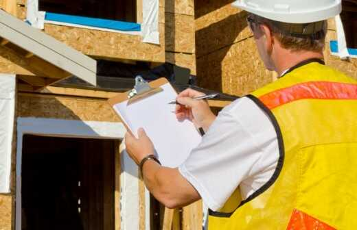 Prüfung und Gutachten eines Neubaus - Präzise
