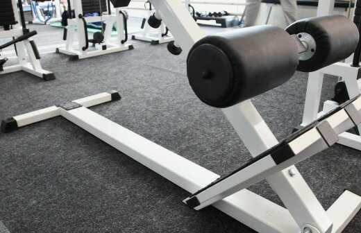 Fitnessgeräte reparieren - Umzug