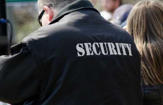 Event-Security - Bühne