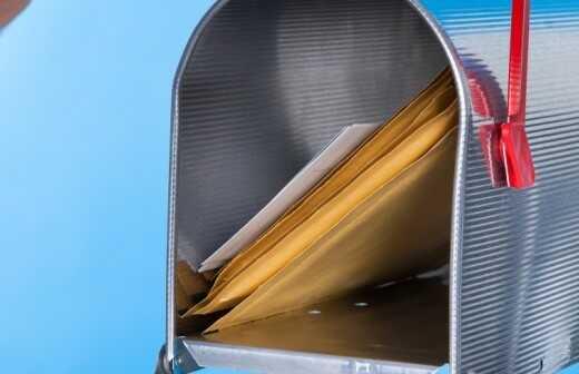 Direct Mail Marketing - Verteilen