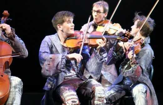Streichquartett - Harfenspieler