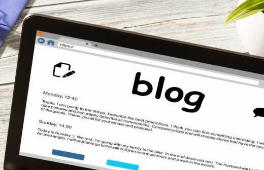 Blog schreiben - Artikel