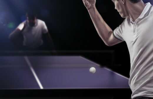 Tischtennistraining - Fitness-Studios