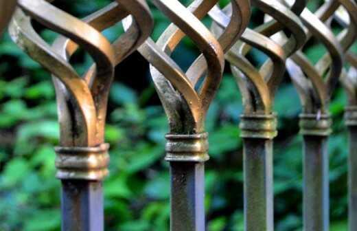 Geländerinstallation oder -umgestaltung - Treten