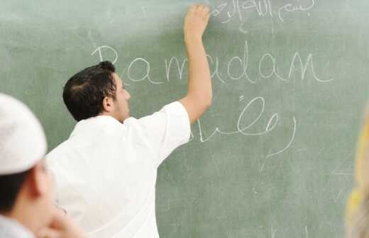 Arabischunterricht - Lernen
