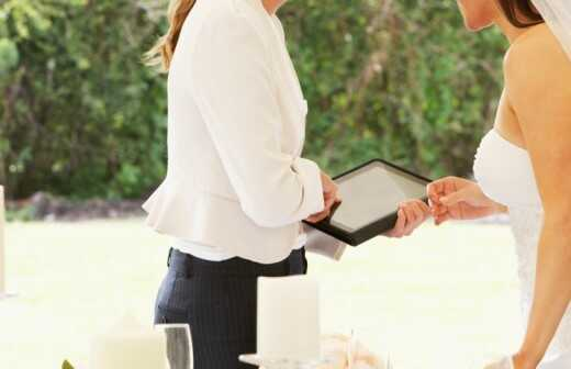 Hochzeitsplanung - Amtieren
