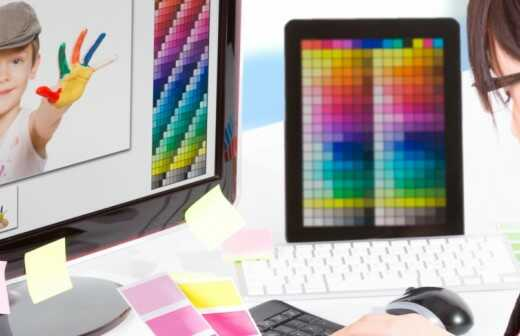 Druckdesign - Print-Design - Prägung
