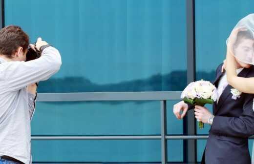 Hochzeitsfotografie - Tischplatte