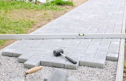 Terrasse sanieren - Neudeckung