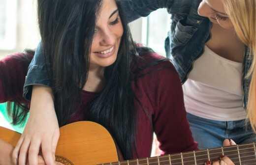 Gitarrenunterricht für Kinder oder Jugendliche - Links