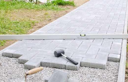 Anbau für Terrasse - Salon