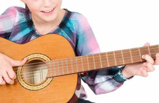 Bassgitarrenunterricht für Kinder oder Jugendliche - Fretless