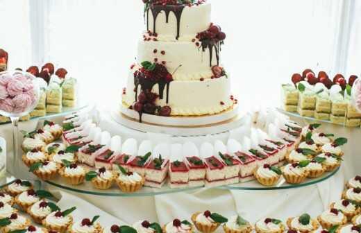 Catering Service (Dessert und Süßigkeiten) - Geschenk