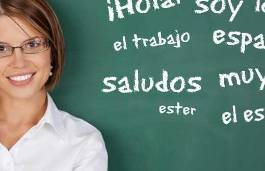 Spanischunterricht - Absatz