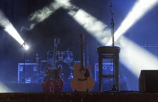 Klassische Rockband - Mariachi