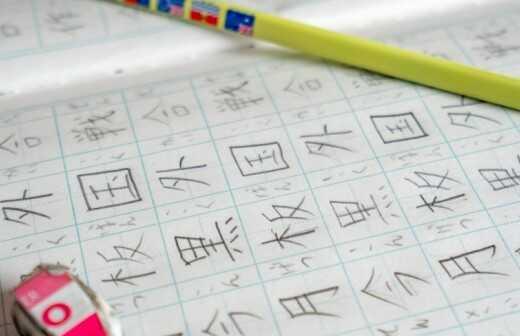 Japanischunterricht - Gesprochen