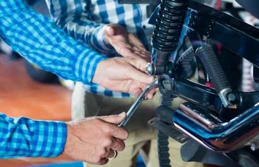 Reparación de motocicletas - Motocicleta