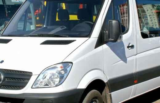 Minibus chárter - Chofer