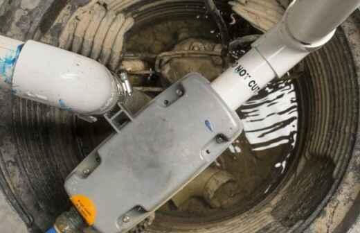 Mantenimiento o reparación de bombas de desagüe