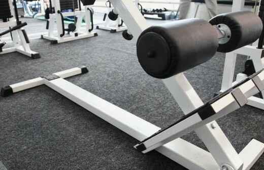 Reparación de equipamientos de gimnasio