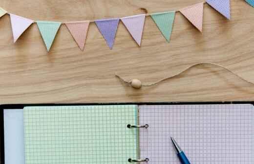 Planificación de fiestas - Decoradora