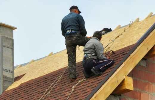 Reparación o mantenimiento de tejados