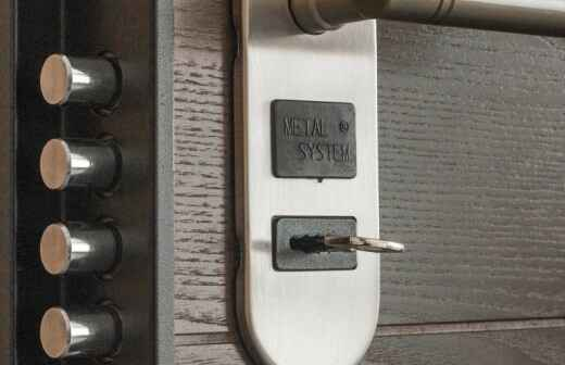 Instalación de puertas - Pomo