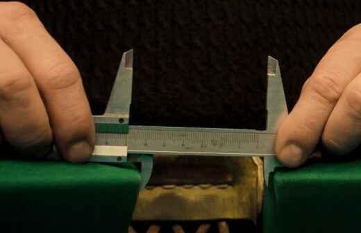 Servicios de reparación de mesas de billar - Dimensiones