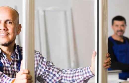 Instalación de ventanas de PVC - Calafatear