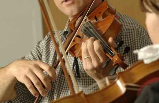 Clases de violín para música folk - Izquierda