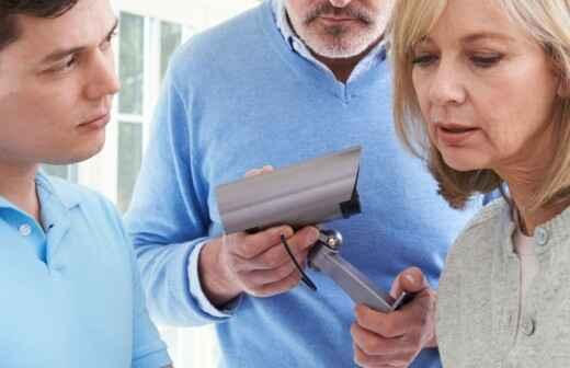 Instalación y reparación de cámaras de vigilancia - Electricita