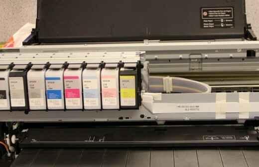 Servicios de impresión - Folletos