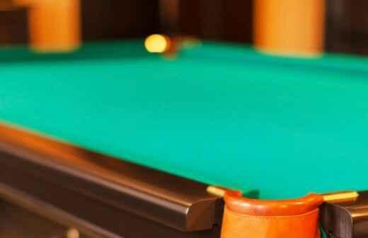 Montaje de mesas de billar - Poner