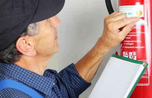 Inspección de extintores de incendios - Cigarrillo