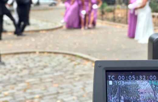 Vídeos de boda - Grabación
