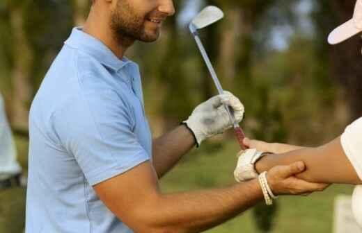 Clases de golf - Señoras