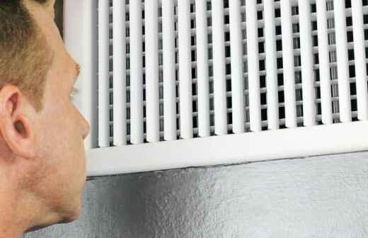 Instalación o reemplazo de ventilaciones de secadoras