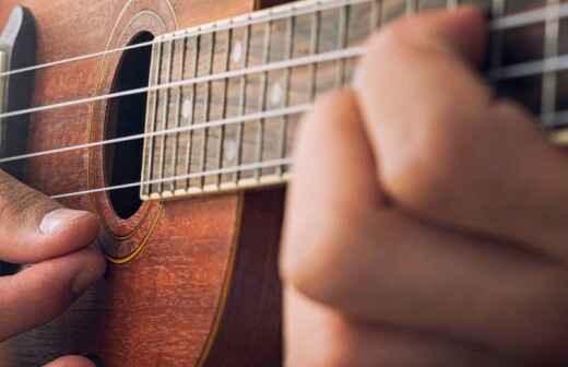 Clases de ukelele - Guitarra
